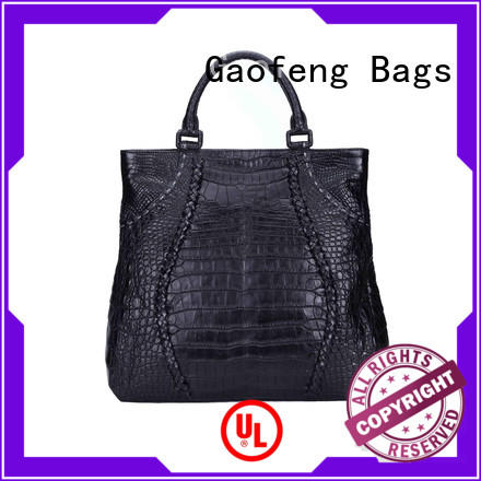 crocodile fashion handbags duffle for ladies