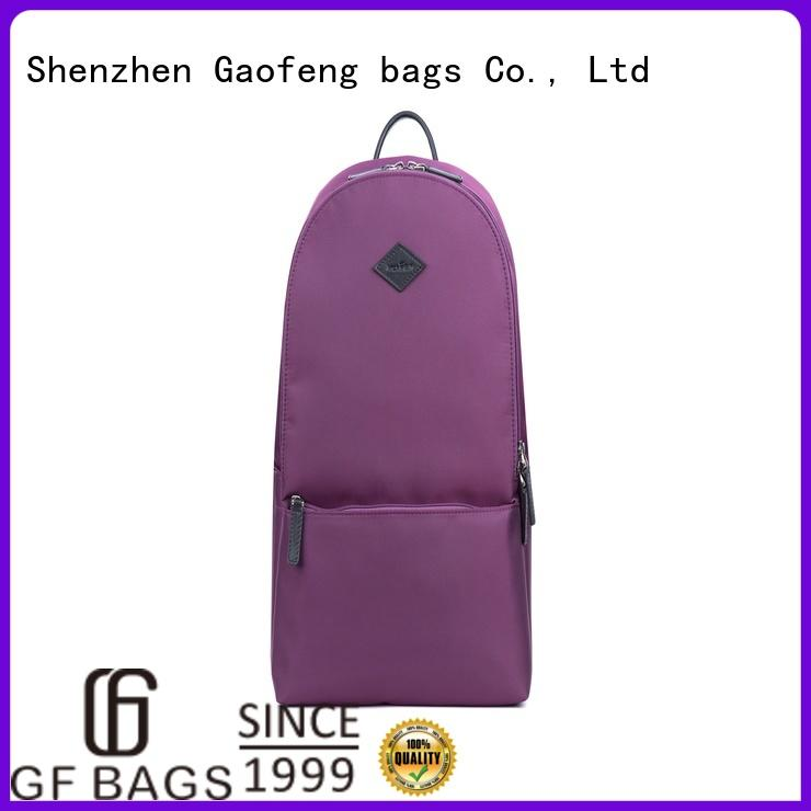 GF bags lock outdoor backpack rope for book