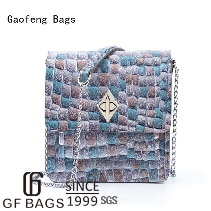 GF bags high-quality ladies shoulder bag supplier for shopping