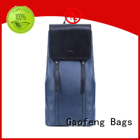 GF bags litres big backpack bags leather for student