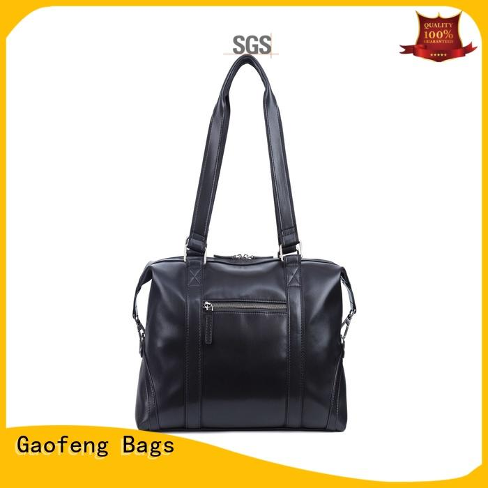 GF bags leather travel duffel bags bulk production for boy