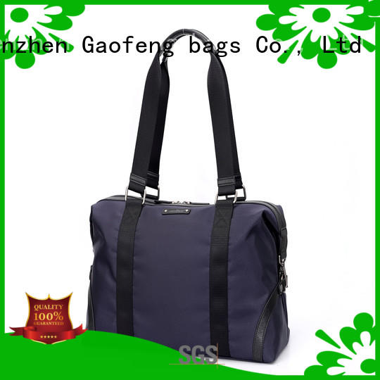 GF bags handle leather duffle bag mens manufacturer for boy