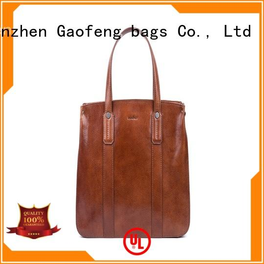 GF bags leather cover ladies bag lock for women