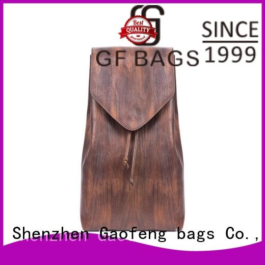 fabric adult backpacks leather for student GF bags