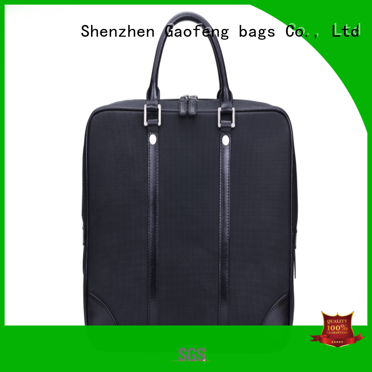 GF bags leather modern briefcase order now for man