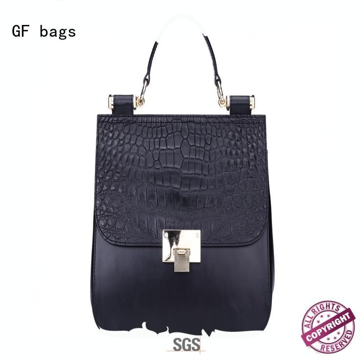 crocodile luxury handbags handle lock for ladies