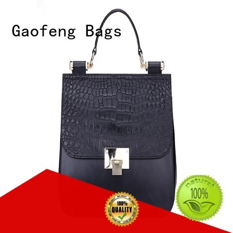 simple affordable handbags closure for shopping GF bags