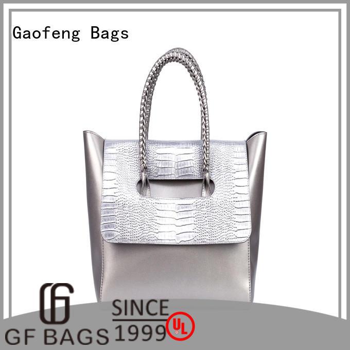 handle fashion handbags crocodile for ladies GF bags