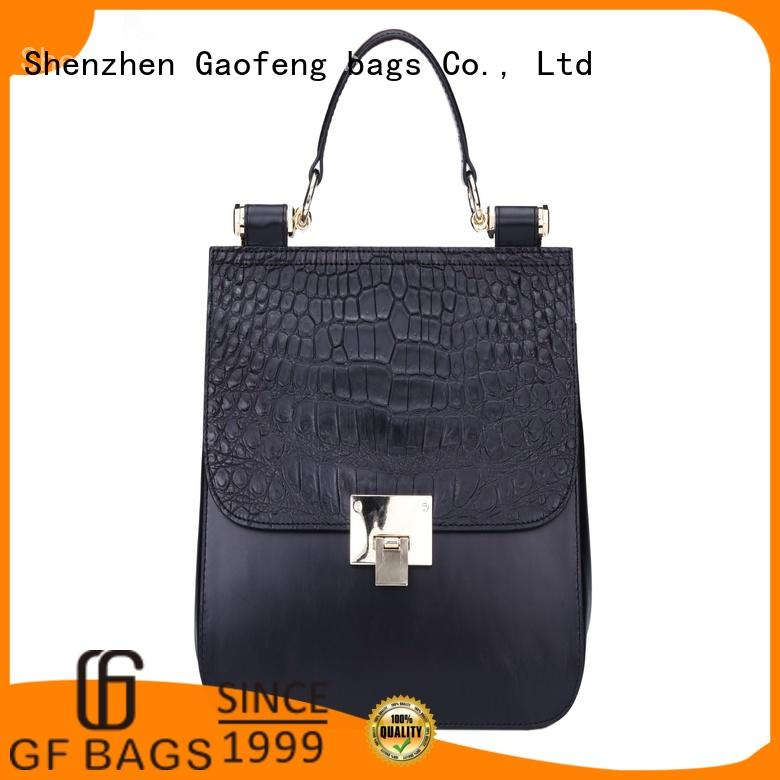 GF bags crocodile cute handbags pattern for ladies