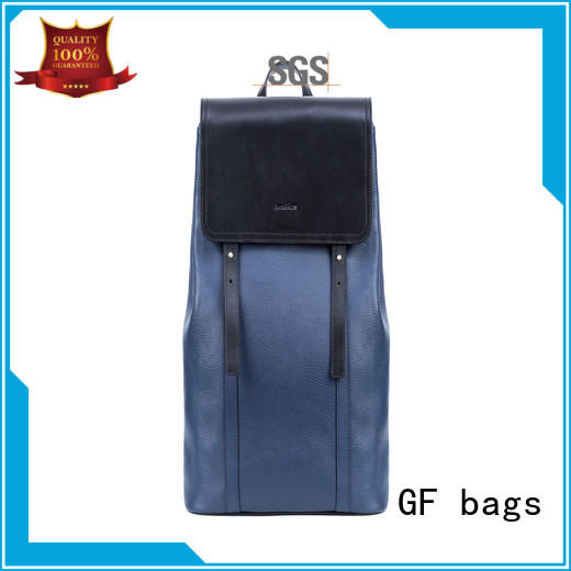 fabric adult backpacks rope leather for student