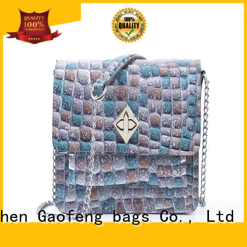 wholesale ladies small shoulder bags manufacturer for shopping GF bags