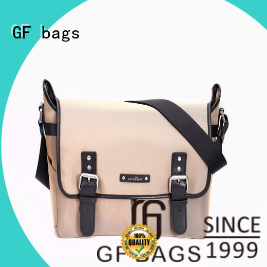 GF bags genuine leather best messenger bags supplier for girls