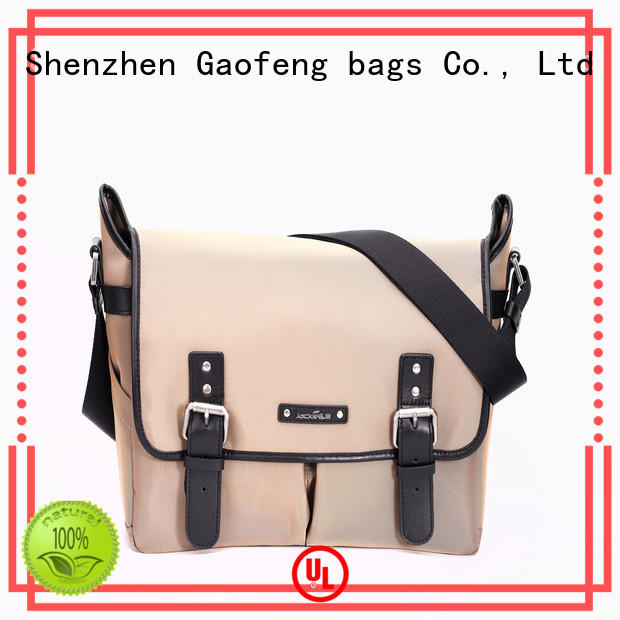genuine leather stylish mens messenger bags for lady GF bags