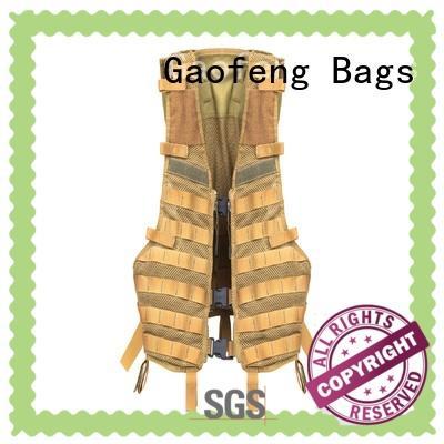 bag military vest bulk production for trip GF bags