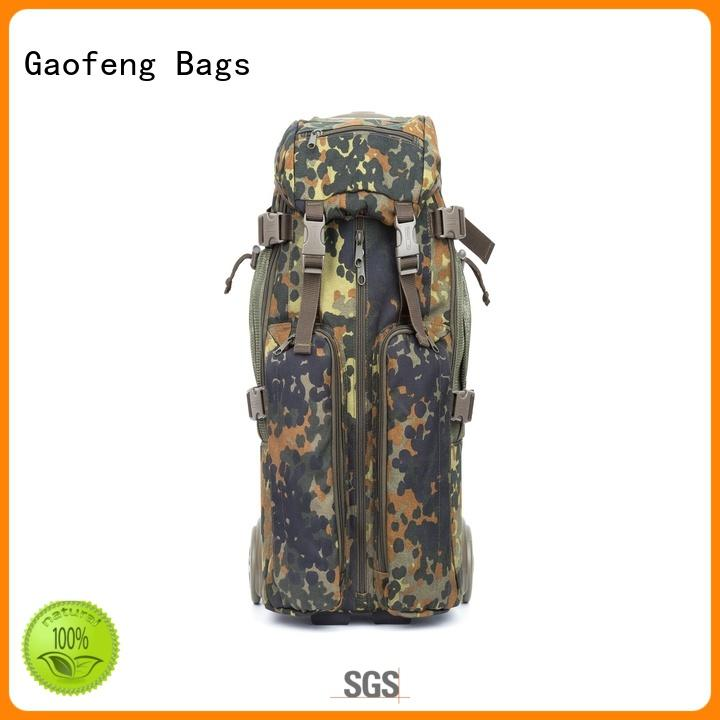 shell low profile tactical backpack buckle for trip GF bags