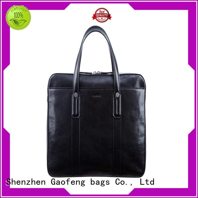 simple handle high end briefcase for business trip