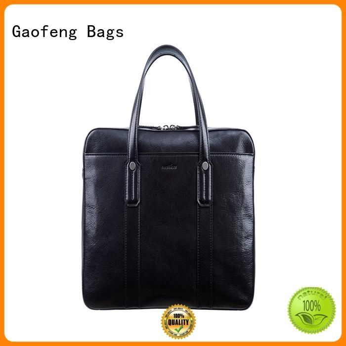 GF bags wholesale modern briefcase granule for travel