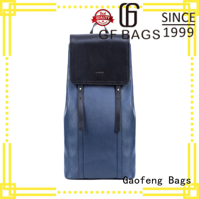 GF bags fabric unique backpacks lock for travel