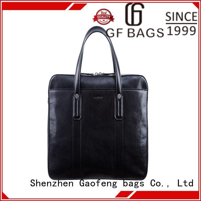GF bags wholesale business briefcase granule for man