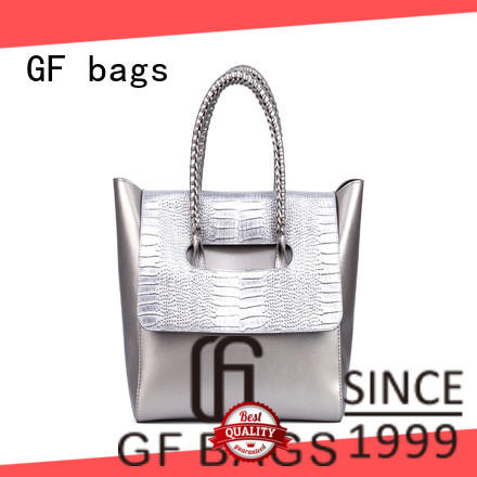 weaving trendy handbags closure for women