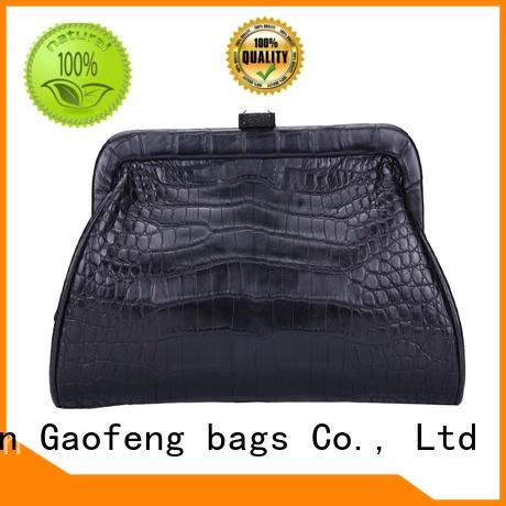 GF bags durable evening bags and clutches leather cash storage