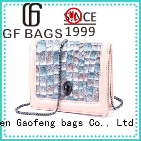 GF bags custom small designer bags bulk production for ladies