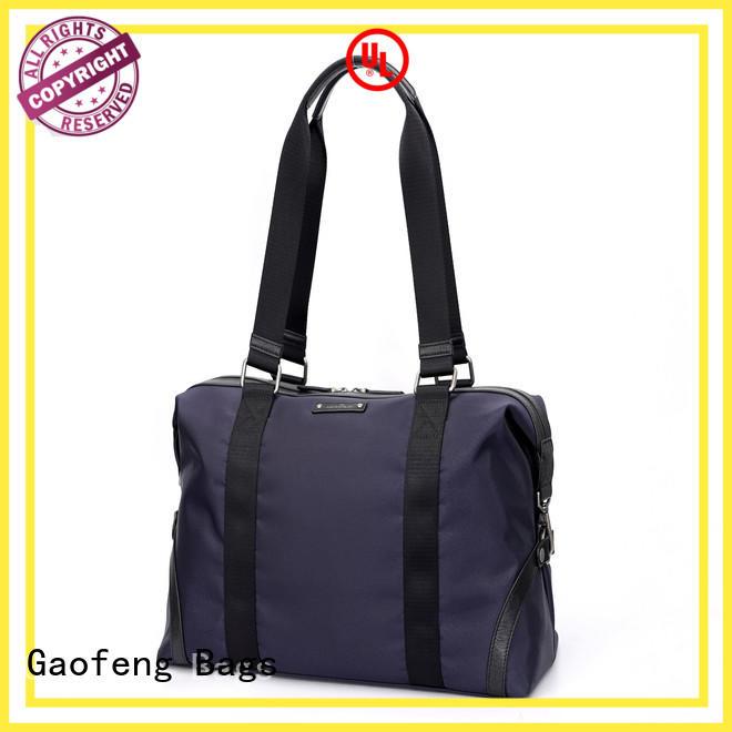 GF bags ODM travel duffel bags bulk production for boy