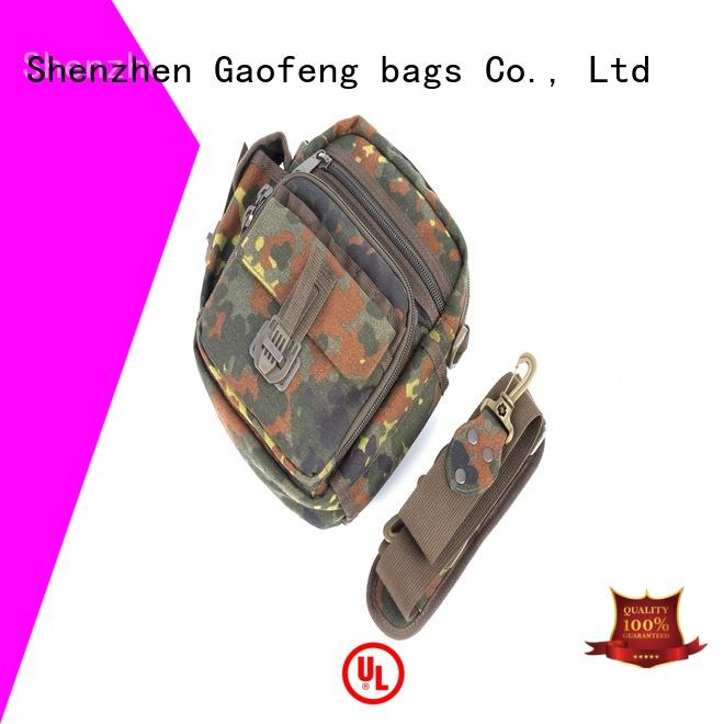 GF bags hard military style backpack inquire now for trip