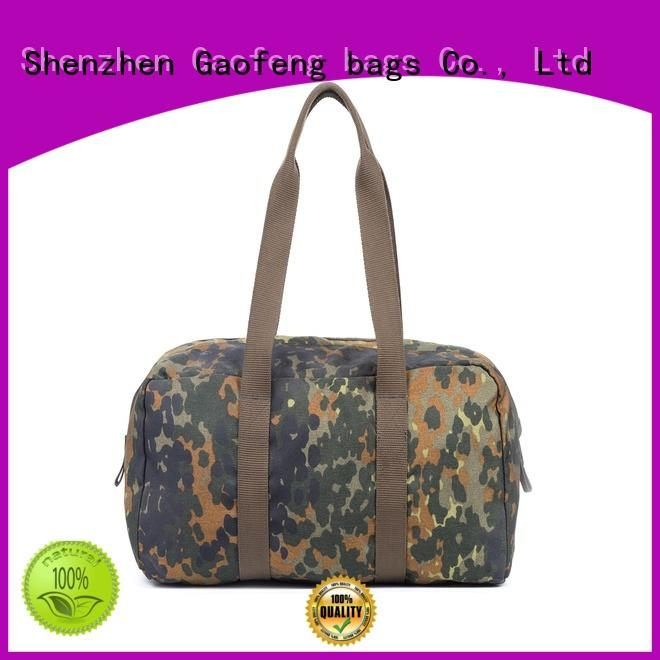 trolley military gear bags customization for shopping GF bags