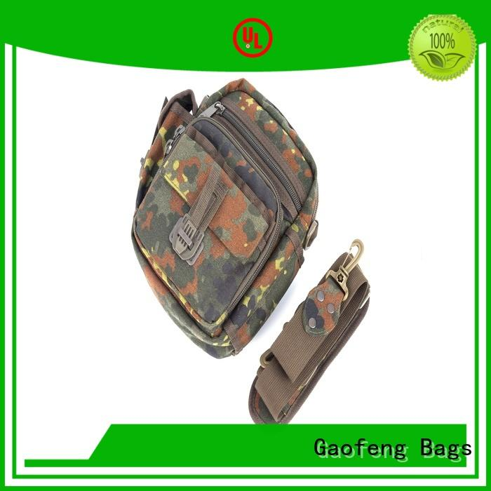 GF bags wholesale army military backpack bag for ladies