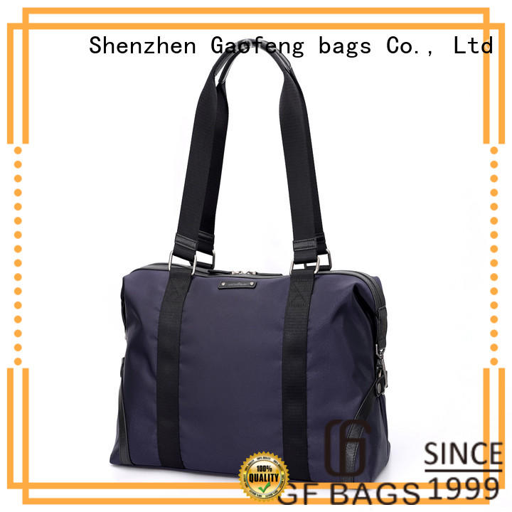 GF bags leather cheap duffle bags customization for boy