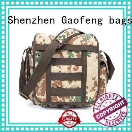GF bags custom low profile tactical backpack trolley for trip