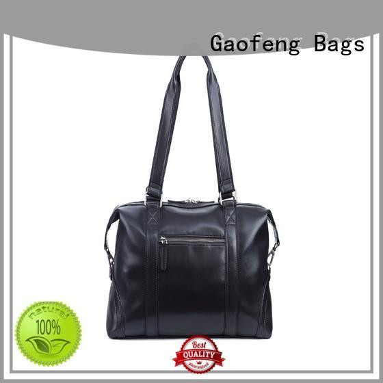 GF bags closure travel duffel bags supplier for male