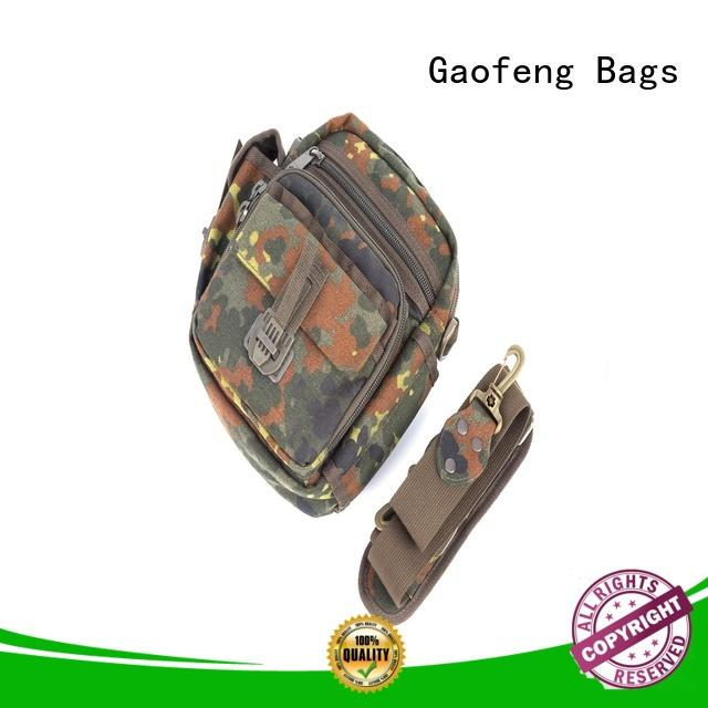 GF bags durable army military backpack vest for trip