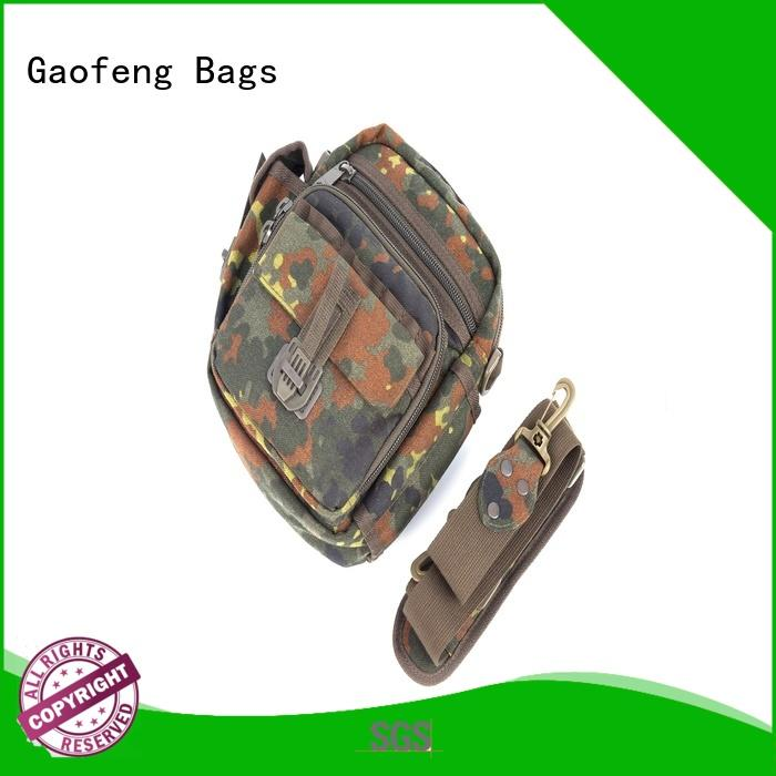 GF bags hot-sale military tactical backpacks bulk production for shopping