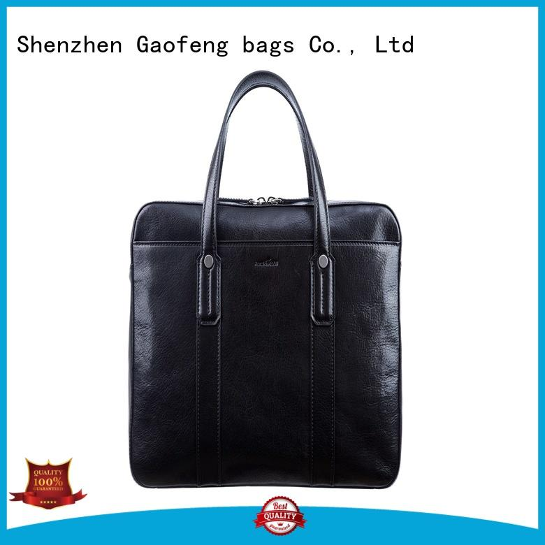 GF bags handle briefcase bag granule for man