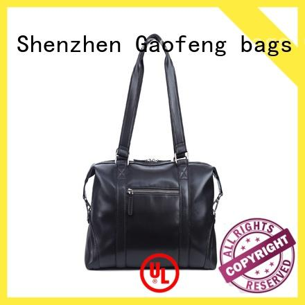 GF bags wholesale leather duffle bag mens manufacturer for boy