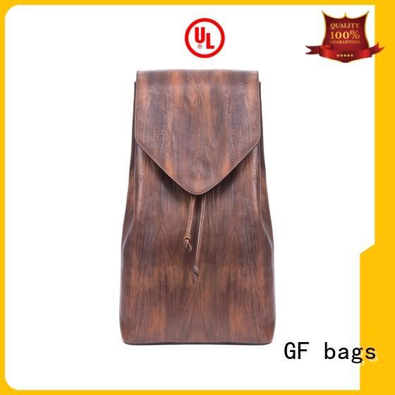 Quality GF bags Brand back backpack zipper