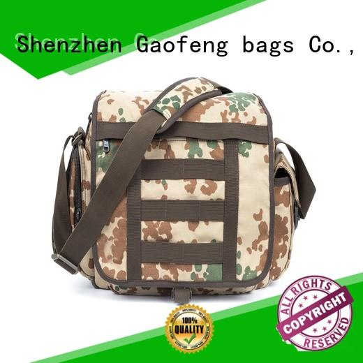 GF bags crossbody small tactical backpack bulk production for trip