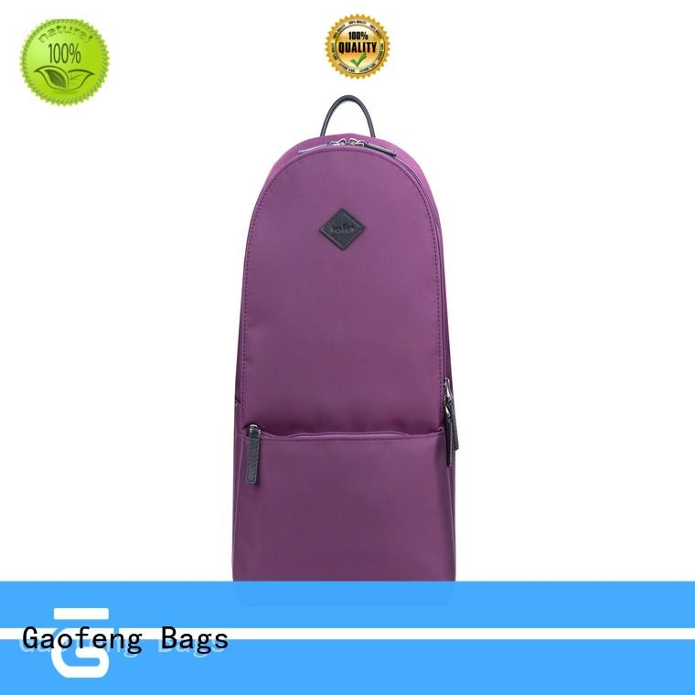 GF bags nylon unique backpacks for student