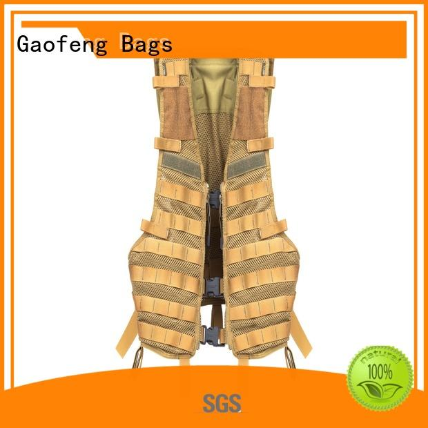 GF bags strengthen military tactical vest customization for ladies
