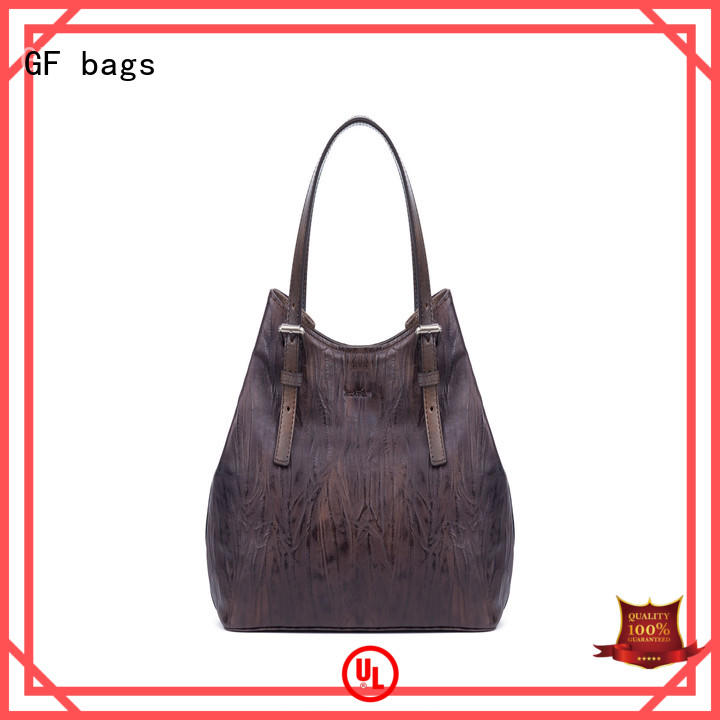GF bags weaving luxury handbags lock for ladies