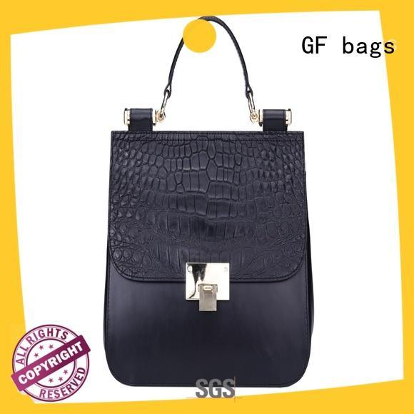 GF bags microfiber fashion handbags duffle for shopping