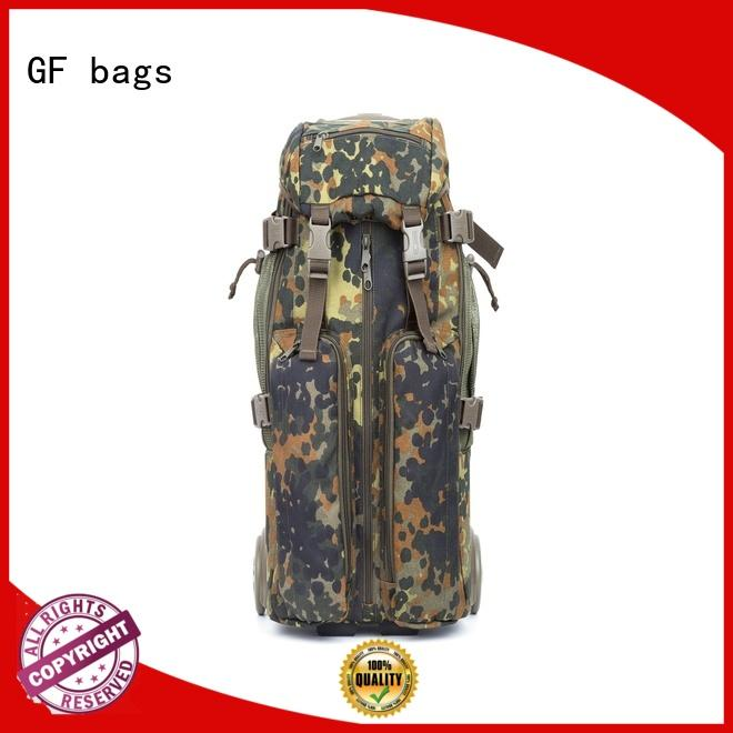 messenger military style backpack zipper for shopping GF bags