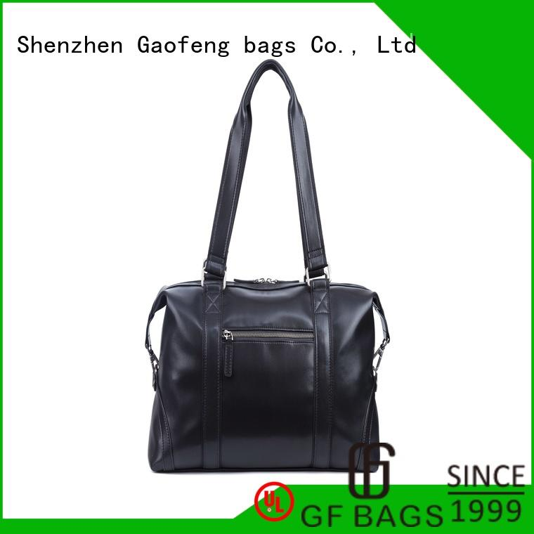 leather weekend duffle bag mens bulk production for male GF bags