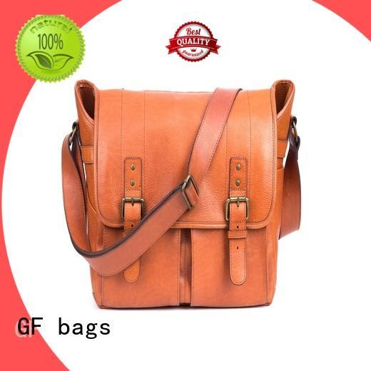 GF bags genuine computer messenger bag bulk production for lady