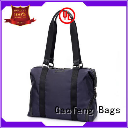 GF bags ODM cheap duffle bags handle for male