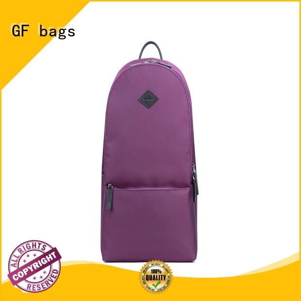 GF bags fabric cool adult backpacks zipper for school