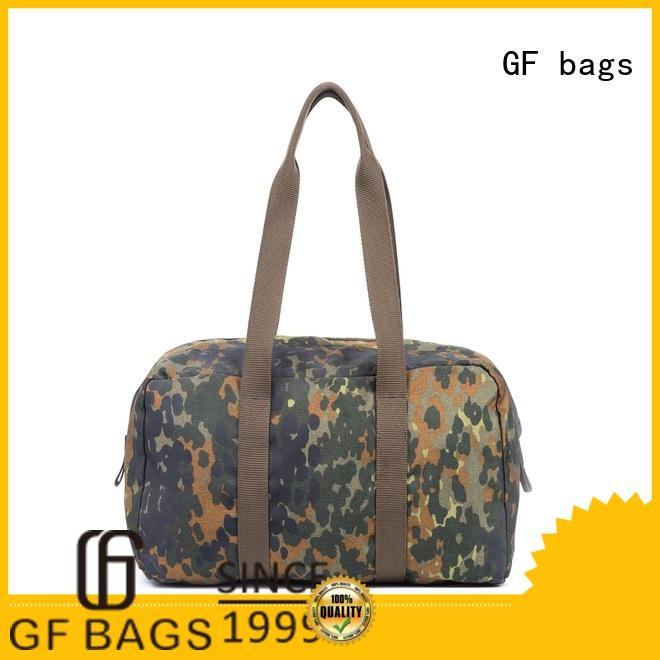 GF bags custom tactical shoulder bag bulk production for shopping
