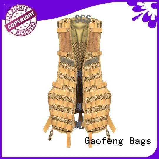 GF bags durable military vest bulk production for ladies